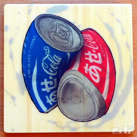 Ase Cola, by Ken Taya --