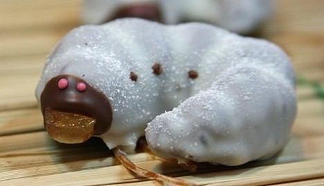 Larva chocolate --