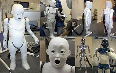 CB2, baby humanoid robot