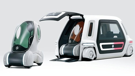 Suzuki Sustainable Mobility (PIXY + SSC)