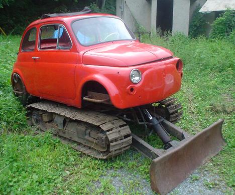 Fiat Cinque Tank --