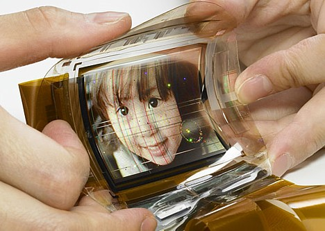 Flexible organic EL display -- 