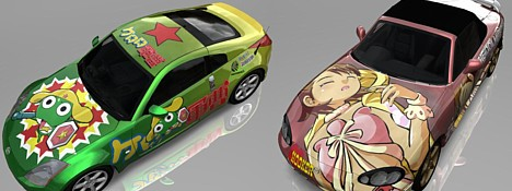 Virtual itasha in Forza 2 --