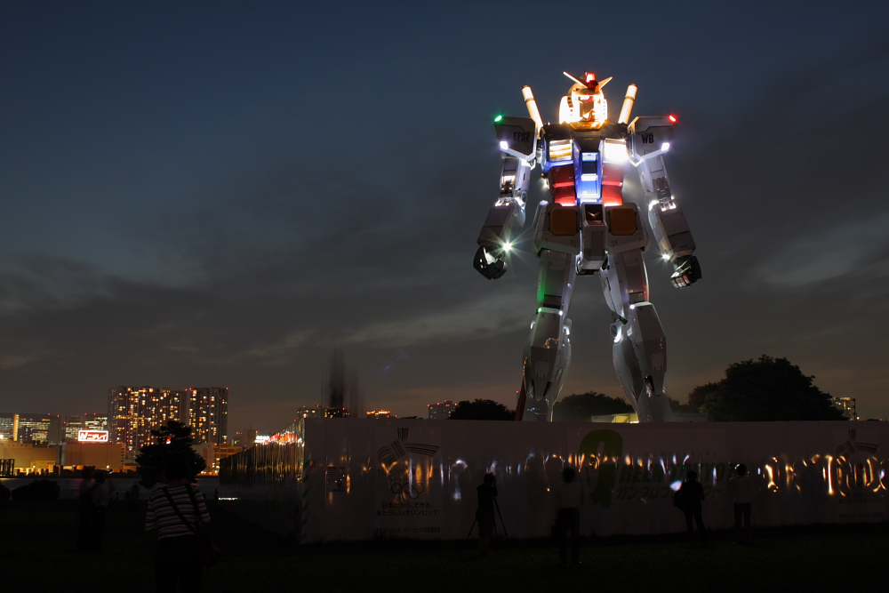 Gundam @ Night