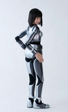 HRP-4C fashion model robot --