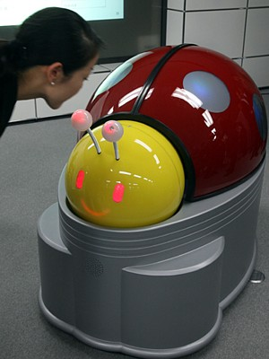 Lady Bird toilet-cleaning robot --