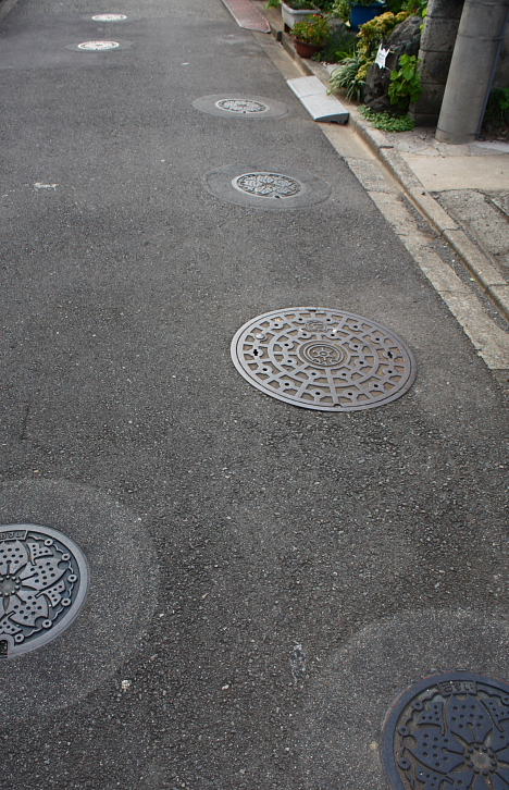Manhole Ginza --