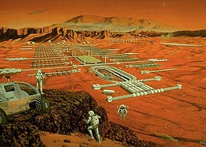 Martian colony, Obayashi Corporation --
