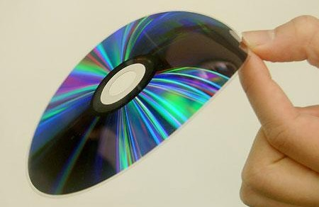 Hitachi Maxell's thin DVD