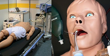 Patient sumulator developed by IMI and Paramount Bed