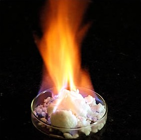 Methane hydrate: combustible ice