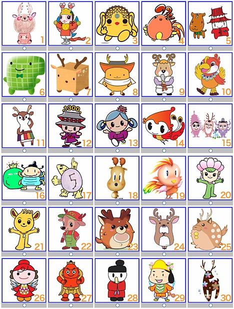 Nara character ballot --