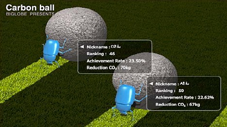 Carbon Ball game by NEC -- 