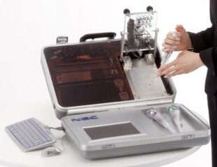 NEC portable DNA lab --