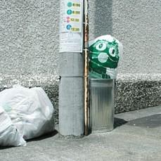 Oscar Garbage Bag Art Work --