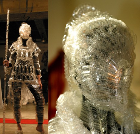 PET bottle armor --