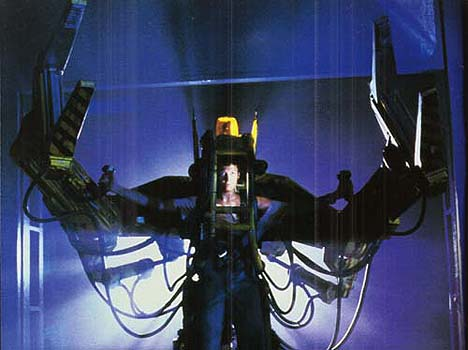 Power Loader exoskeleton suit in Aliens -- 