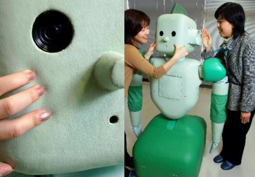 RI-MAN, the soft-skinned robot