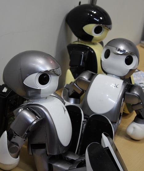 Manoi at Robo Japan 2008 --
