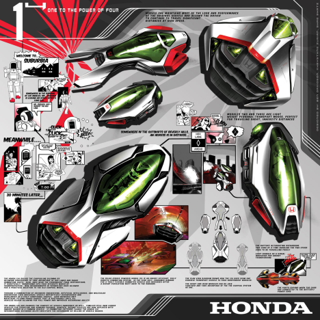 Honda 124 --