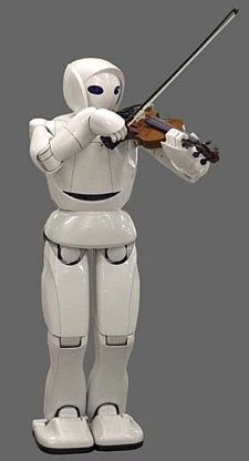 Toyota robot violinist --