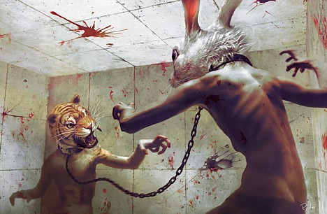 battle - by Ryohei Hase --