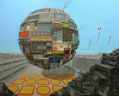 Slingshot, by Sashie Masakatsu