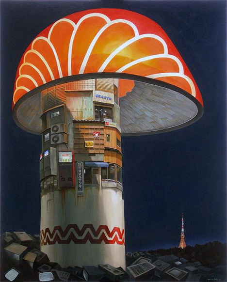 Electric Mushroom, by Sashie Masakatsu