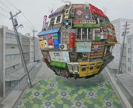 Cradle, by Sashie Masakatsu
