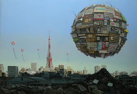 Bazaar, by Sashie Masakatsu