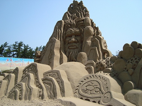 World Sand Sculpture Festival 2009, Japan --