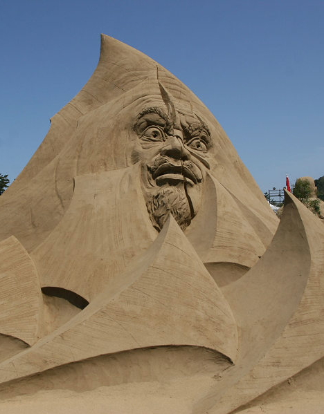 Sculpture at World Sand Sculpture Festival, 2009 --