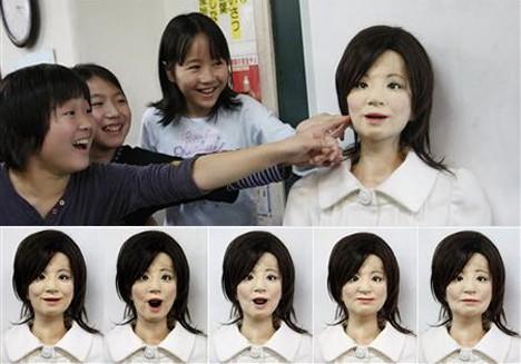 Saya humanoid robot teacher --