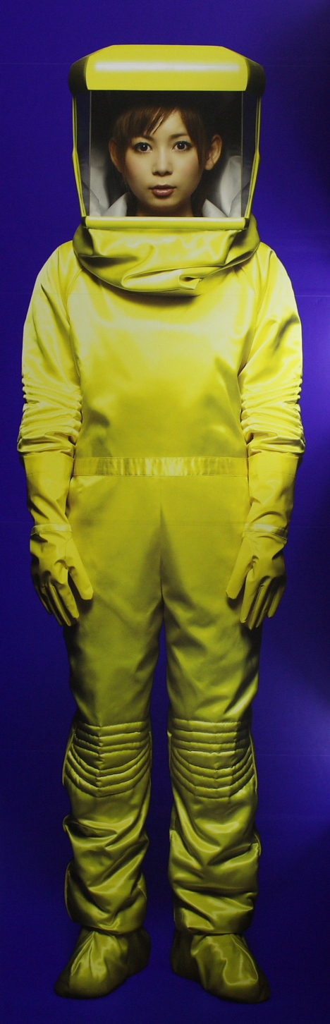 Shokotan in hazmat suit -- 