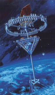 Shimizu Corporation's space hotel --