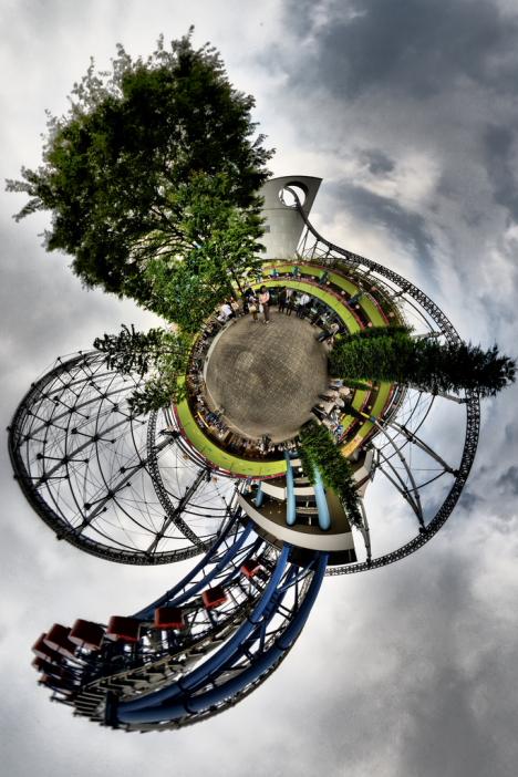 3D panorama of Tokyo --