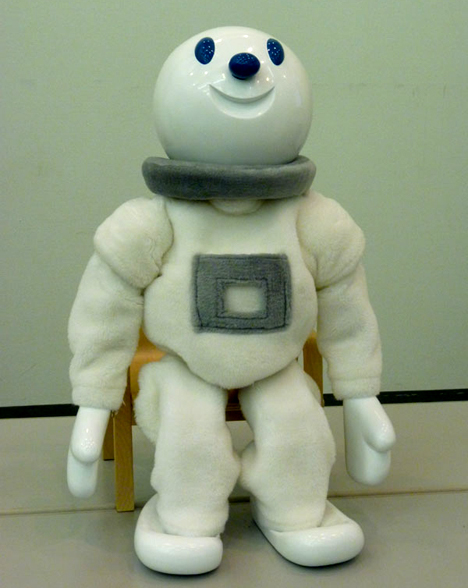 Taizou exercise instructor robot --