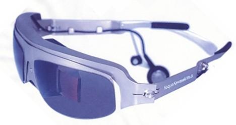 Teleglass T4N wearable monitor --