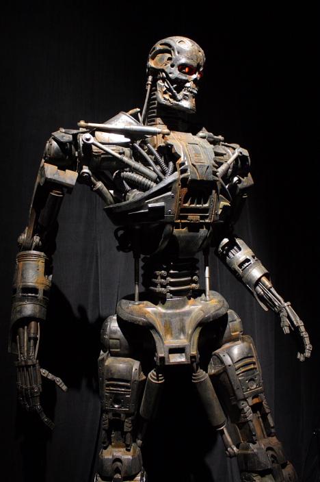 Terminator exhibited at Miraikan, Tokyo --