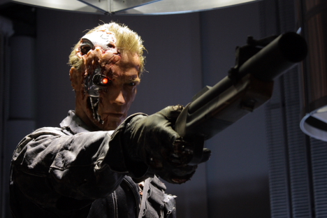 T-800 on display at Miraikan, Tokyo -- 