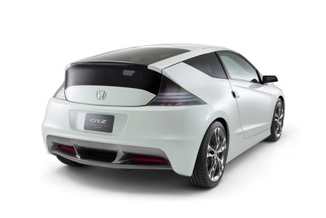 Honda CR-Z concept car at Tokyo Motor Show, 2009 --