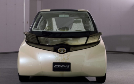 Toyota FTEV2 concept car at Tokyo Motor Show 2009 --