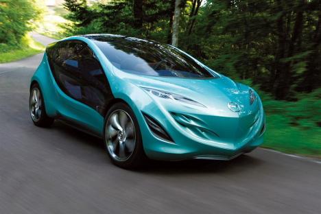 Mazda Kiyora concept car at Tokyo Motor Show, 2009 --