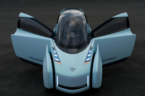 Nissan Land Glider concept car at Tokyo Motor Show 2009 --