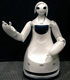 TPR-Robina, Toyota tour guide robot --- 