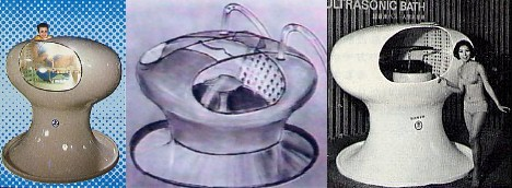 Ultrasonic bath/Human washing machine, Sanyo --