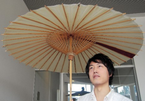 Oto-Shigure umbrella speaker --