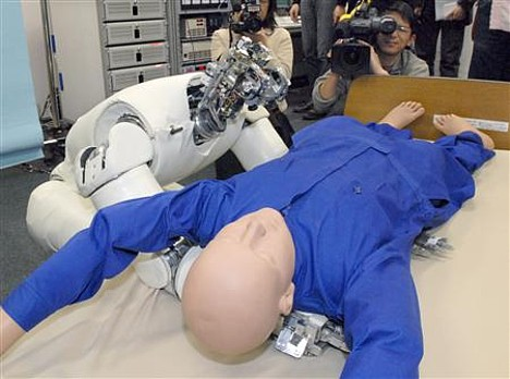 Android lifts 60-kg dummy out of bed --- 