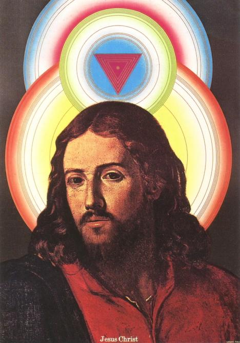 Tadanori Yokoo's Jesus ad for Yamagiwa --