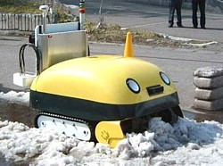 Yuki-taro autonomous snow plow